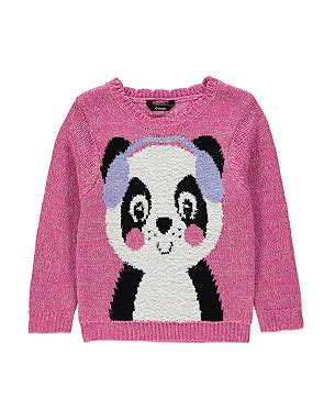 knitting pattern panda jumper product not available