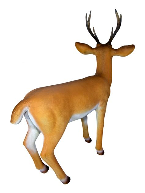 resin life like reindeer decor 1 1m large decor