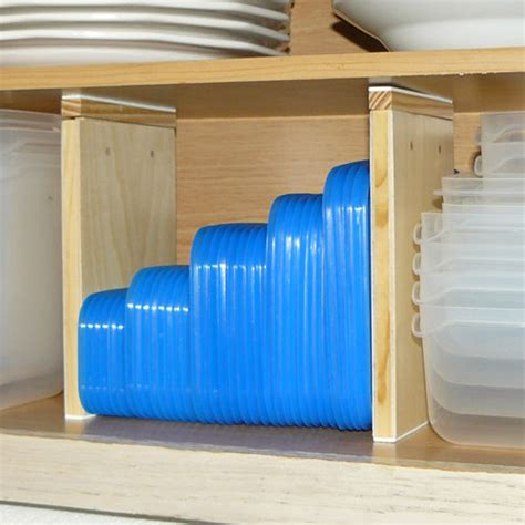 Kitchen Shelf Dividers by Expandable Wood Cabinet Shelf Dividers Set Of 2 In Shelf