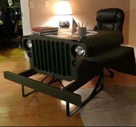 Car Office Desk Reincarnation Giving Cars New Through Upcycling
