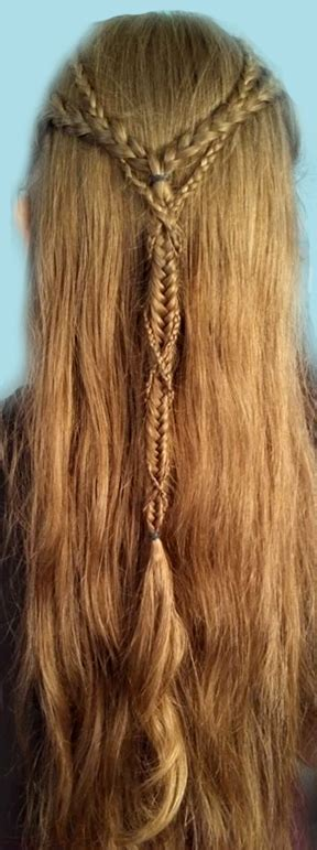 celtic warrior hair braids celtic warrior hair braids beautiful elven braids