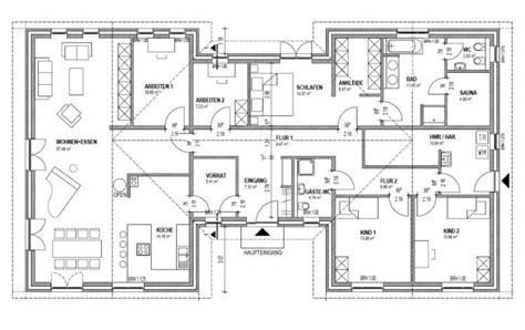 Grundrisse Bungalow 200 Qm by Bungalow 200 Qm Als Architektenhaus