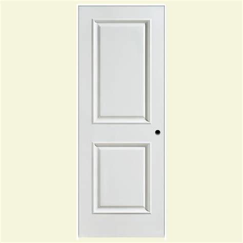 Composite Interior Doors Masonite 24 In X 80 In Palazzo Smooth 2 Panel Square Solid Primed Composite Single