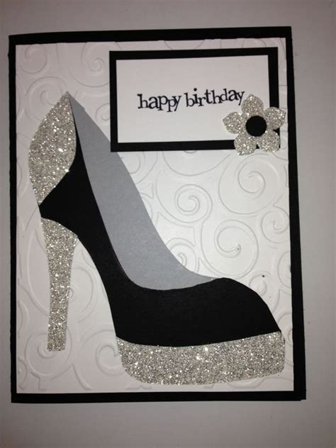pics for gt high heel shoe template for card