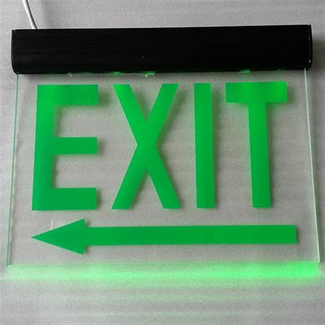 battery operated lighted exit signs led exit signs battery powered exit signs the exit autos