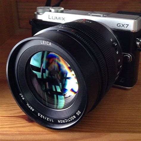 New New New Dg 3 Leica Dg Nocticron 42 5mm F 1 2 Asph Mft Is A Big Lens