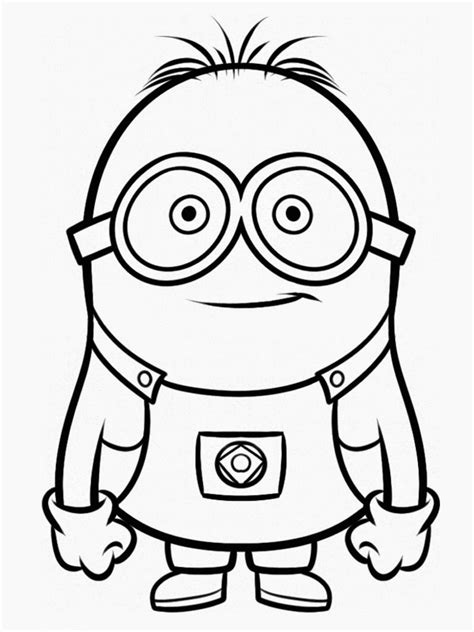 Despicable Coloring Pages despicable me coloring pages coloring pages images