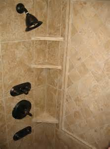 bathroom tile shelves master bathroom walk in shower granite tile built in