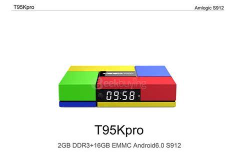 Custom Kodi Android Tv Box T95k Pro S912 2gb 16gb Std t95k pro amlogic s912 android 6 0 2g 16g tv box