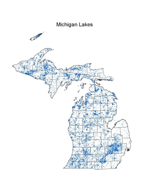 lake michigan map michigan lakes michigan inland lakes partnership