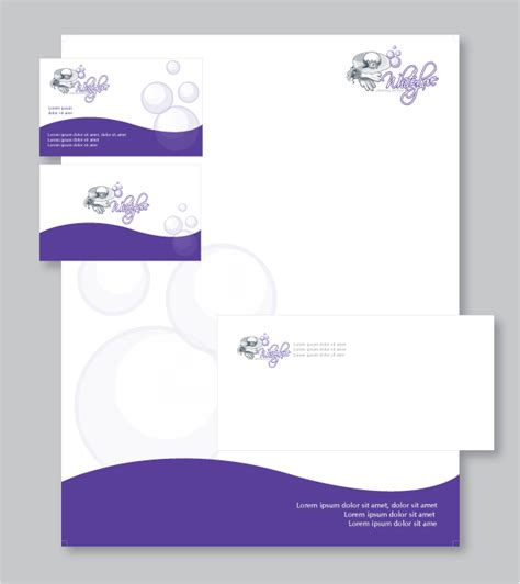 business letterhead and business cards 7 best images of business letterhead design business