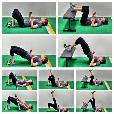 Exercises To Do At Your Desk For Abs 20 Glute Bridge Variations Redefining Strength
