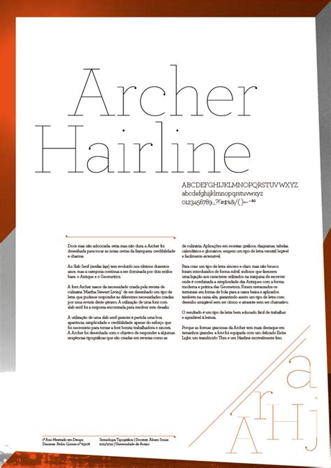 Archer Hairline Font My Pins Repins