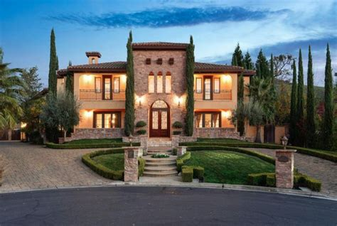 tuscan style home tuscan style home in alamo california homes of the rich