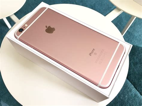 Iphone 6 S 16gb Rosegold iphone 6s plus gold 16gb secondhand my