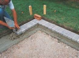 Raised Garden With Concrete Blocks - how to lay paving blocks gravel amp asphalt help amp ideas diy at b amp q