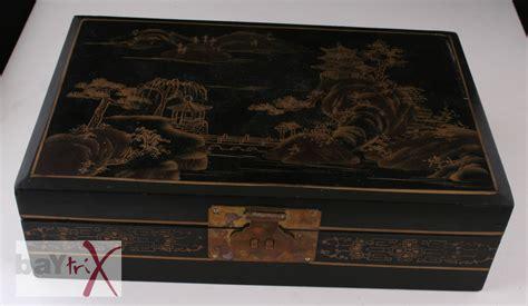 holz schubladenkasten schubladenkasten schmuckkasten japan holz metall alt antik