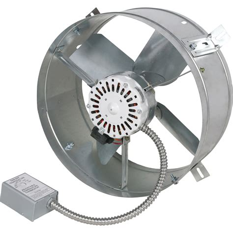 2000 cfm exhaust fan cool attic gable mount attic exhaust ventilator fan