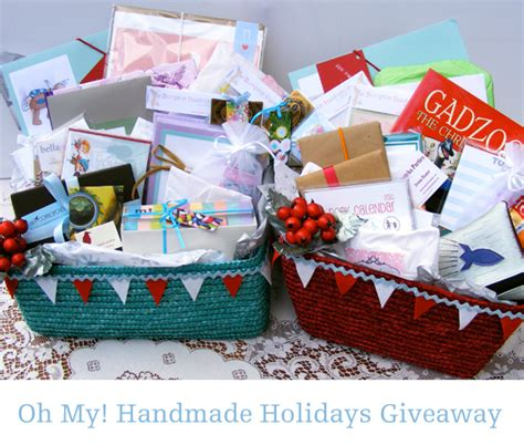 Handmade Baskets Ohio - giveaway oh my handmade holidays giveaway oh my handmade