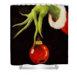 Christmas Shower Curtain Target How The Grinch Stole Christmas Shower Curtain For Sale By