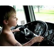 Little Boy Driving A Big Rig  YouTube