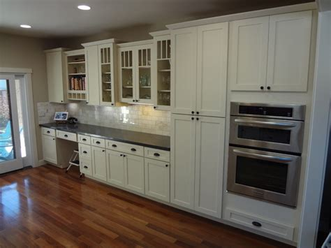 Country Kitchen With White Cabinets white kitchen cabinets shaker cabinetry cliqstudios