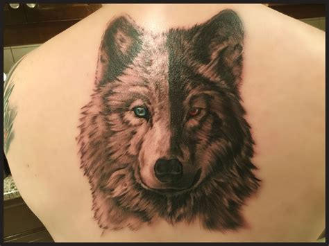 two wolves tattoo image result for two wolves my style