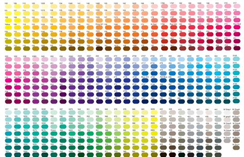 pantone paint pantone color chart all colors moderndesigninterior com