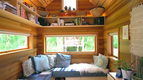 images of tiny house family of 4 sheds 96k of debt by living simply in a tiny house treehugger