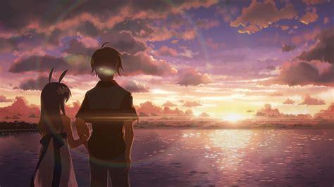 wallpaper 4k alone 2048x1152 anime boy and girl alone 2048x1152 resolution hd