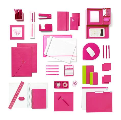 38 best pink office supplies images on office