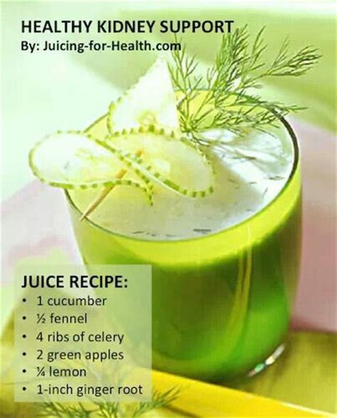 Kidney Detox Water by Healthy Kidney Juice Recipe Juicey Juice