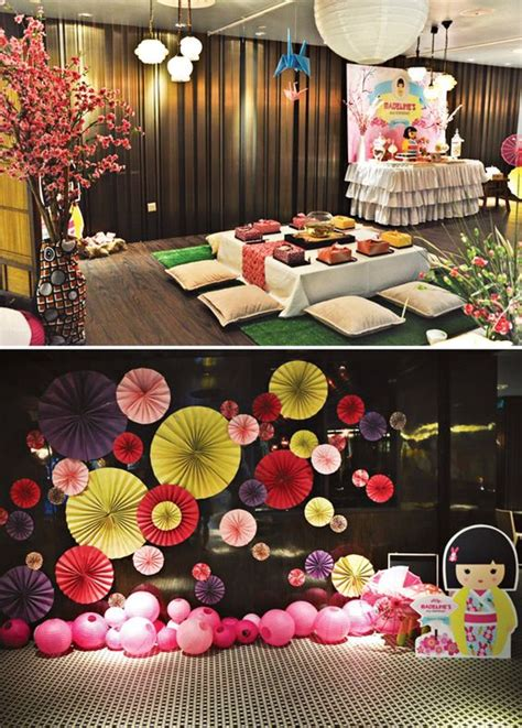 asian themed events cheerful japanese kimmidoll themed party 2nd birthday