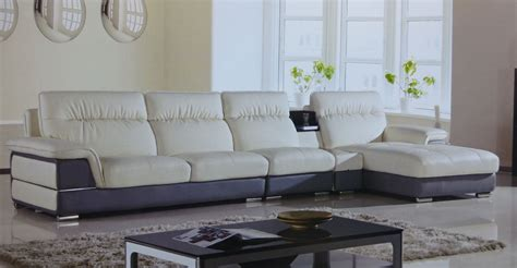 modern gray sectional hover ivory gray leather modern sectional sofa set