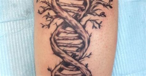 paradox tattoo dna tree done at paradox in thorndale pa by