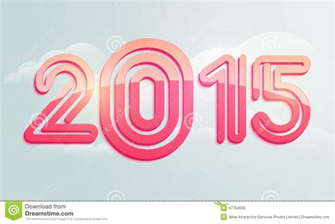 banner design happy new year poster or banner design for happy new year 2015 stock