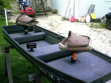 Pedestal Seats For Boats Lets See Your 2 Man Boats