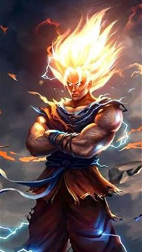 dragon ball z wallpaper for your phone download dragon ball z theme for your android phone