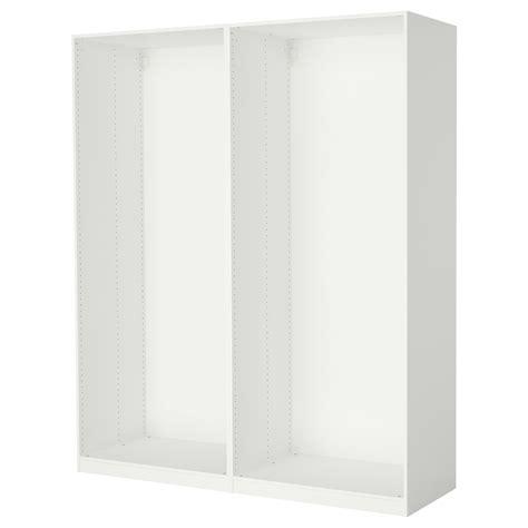 ikea pax wardrobe frame pax 2 wardrobe frames white 200x58x236 cm ikea