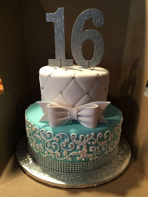 Sweet 16 Cakes by Themed Cake For A Sweet 16 Cake By Cakes