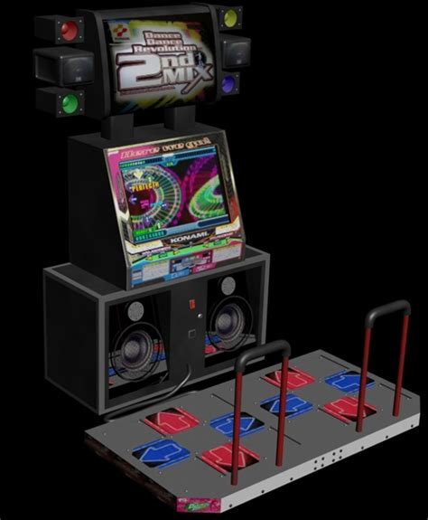 Ddr Cabinet by Revolution 2nd Mix Gn895 Ver Jaa Rom