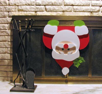 fireplace santa ideas