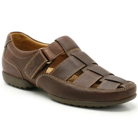 clarks recline open mens wide casual shoes from