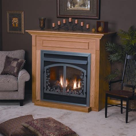 empire emf22 standard wooden mantel cabinet with base