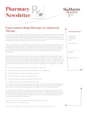 printable email newsletter forms templates