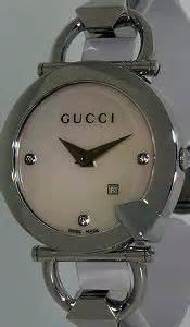 Gucci Ceramik Roundwhite T1310 3 white mop ya122504 gucci chiodo wrist