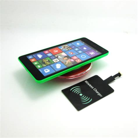 Charger Microsoft Lumia 535 high quality qi wireless charging pad charger receiver for nokia lumia 535 640 630 730 530 830