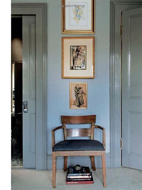 medium gray door window trim   dining room
