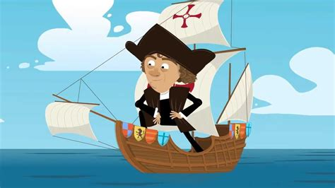 Christopher Columbus Animated Biography | funmoods quot columbus day quot animated card youtube