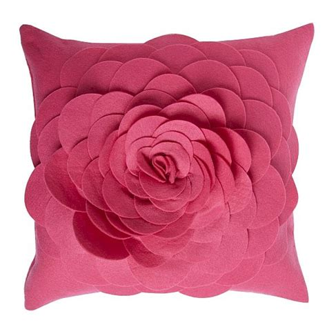 Flower Cushion half price 3d flower felt cushions at debenhams cosy